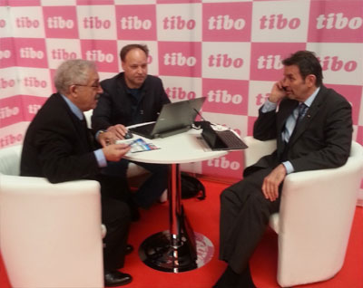 Dr. Babayev attended the 22nd International Specialized Exhibition and Congress TIBO that opened on 23 April 2015 in Minsk