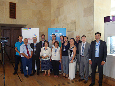 With supporting R.I.T.A. Azerbaijani delegation consisting of 13 people participated at Tbilisi HORIZON 2020 InfoDay on 8-11 September 2015