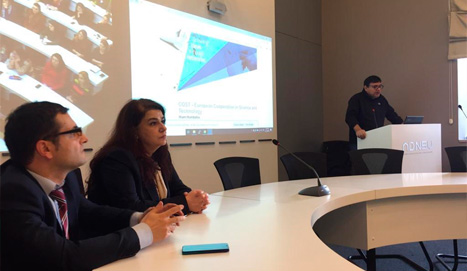 A HORIZON 2020 seminar was held at BSU